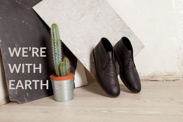 A marca Borgoise Boheme lançou uma coleção de sapatos feitos de Piñatex. Foto: Borgoise Boheme